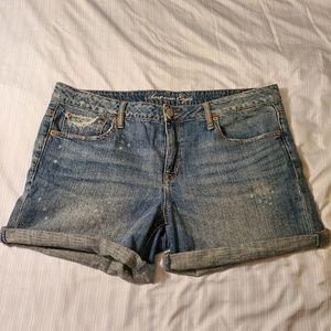 American Eagle Midi Jean Shorts